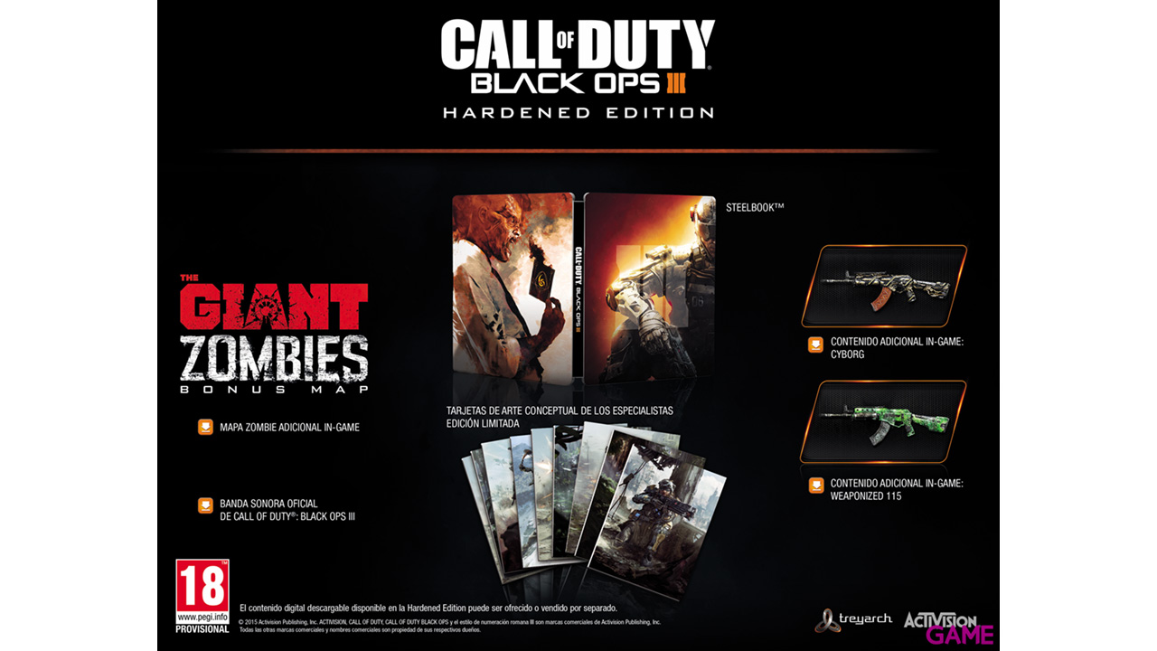 Call of Duty: Black Ops III Hardened Edition