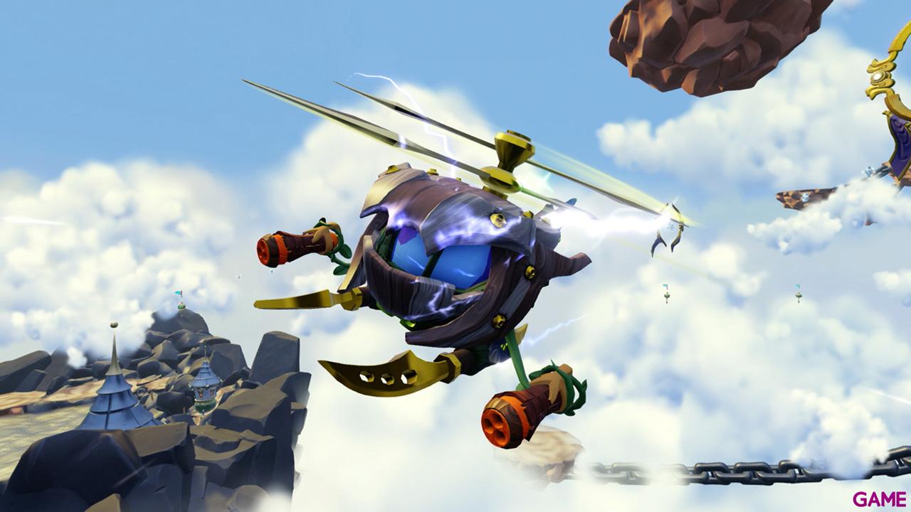 Figura Skylanders Superchargers Vehiculo Stealth Stinger
