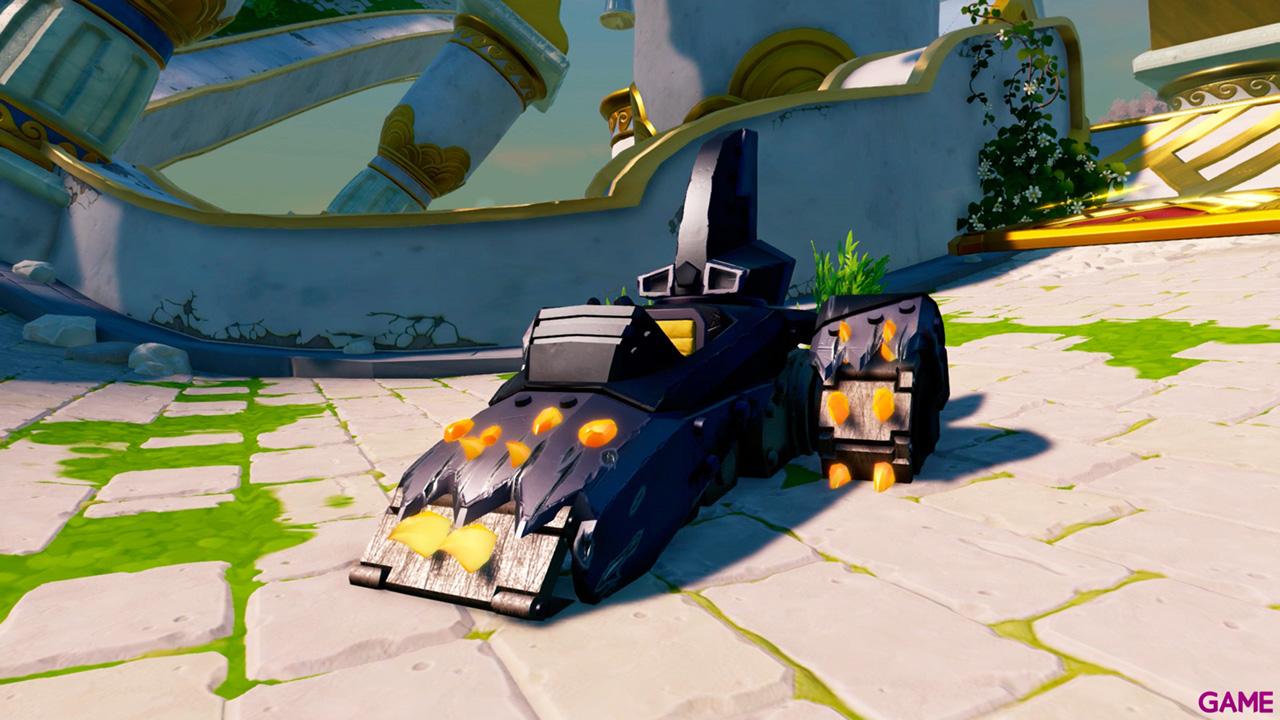 Figura Skylanders Superchargers Vehiculo Shark Tank