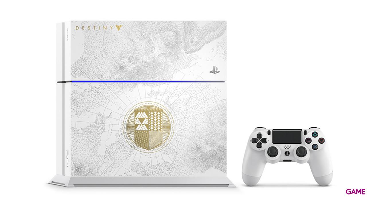 Playstation 4 500Gb Edicion Especial + Destiny El Rey de los Poseidos