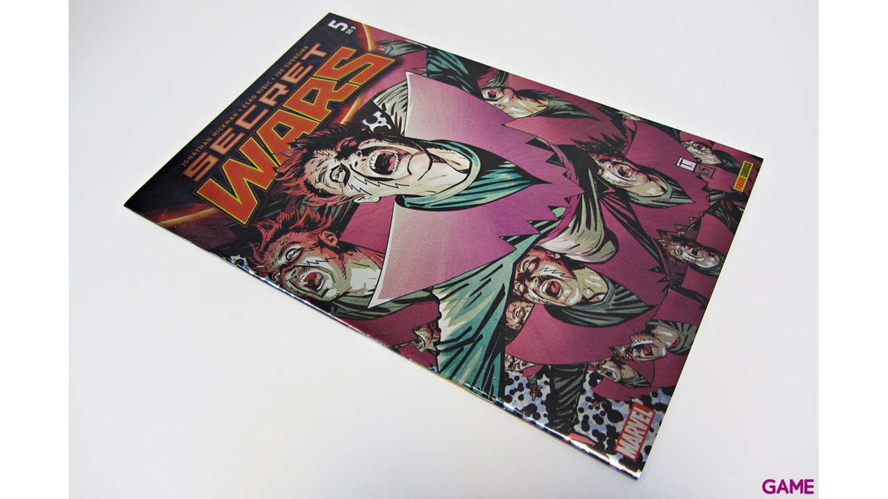Comic Marvel Secret Wars nº 5
