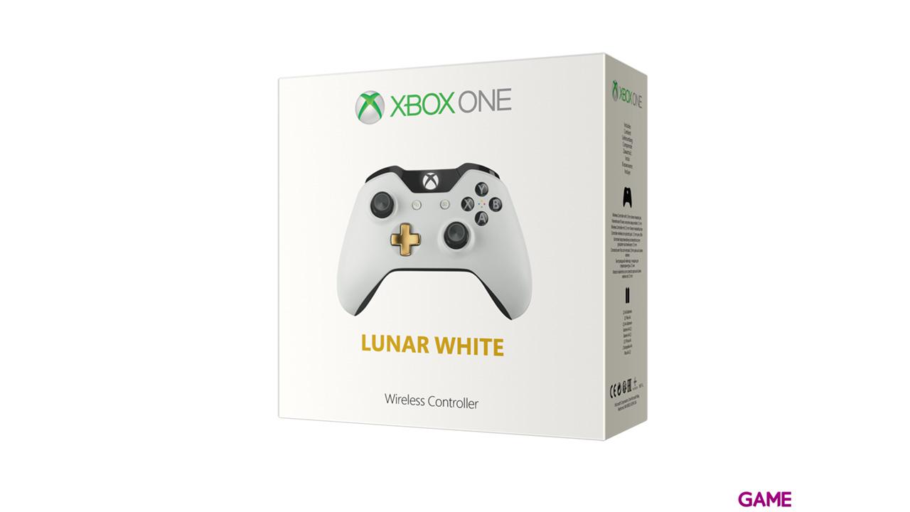 Controller Inalambrico Microsoft Blanco y Dorado Ed Limitada
