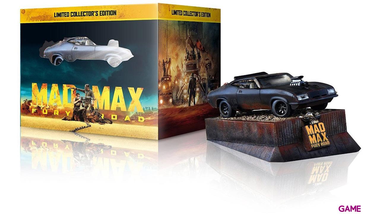 Mad Max Furia en la Carretera Ed Coche BD+DVD+DC