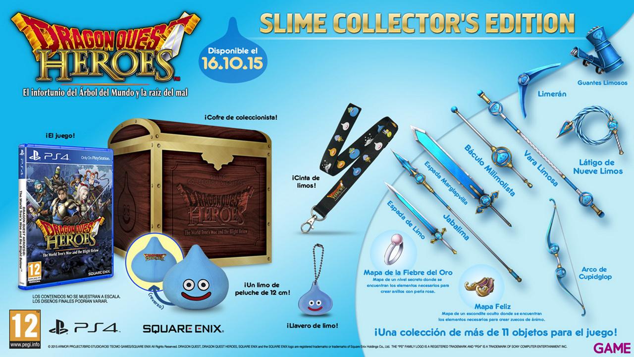 Dragon Quest Heroes Edición Coleccionista
