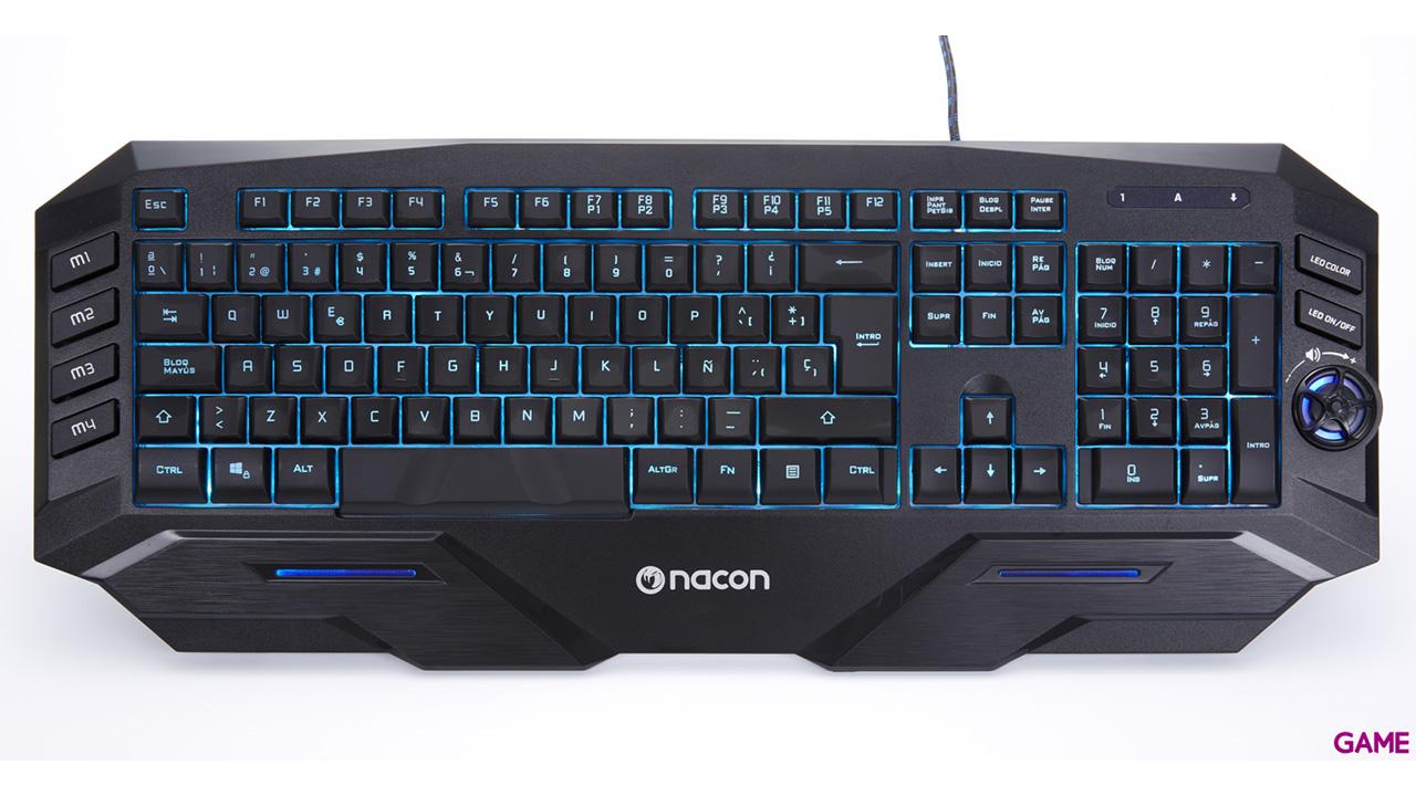 Nacon PCGK500ES - Teclado Gaming