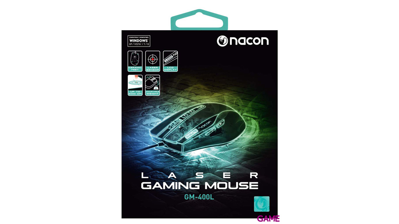 Nacon GM400L - Ratón Gaming