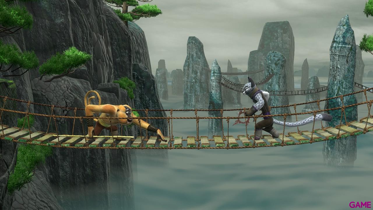 Kung Fu Panda: Confrontacion de leyendas legendarias