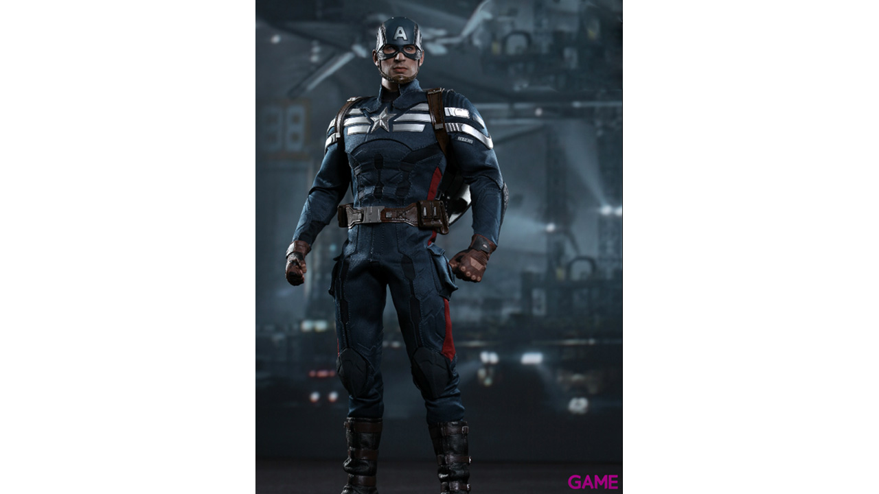 Estatua Marvel Capitán America Stealth Suit 30cm