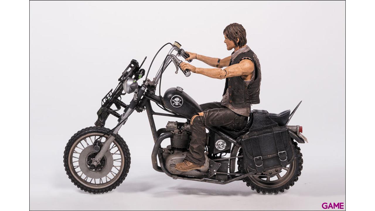 Figura TWD Daryl Dixon en Moto