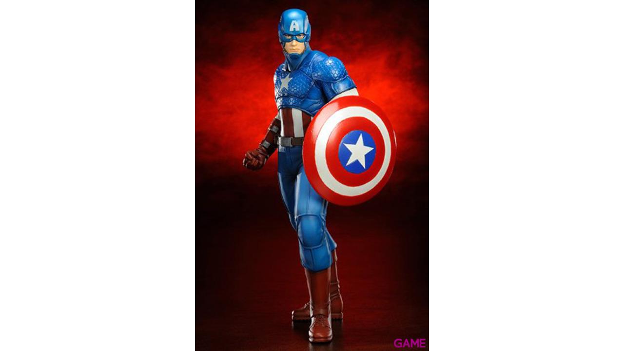 Estatua Los Vengadores Capitán América