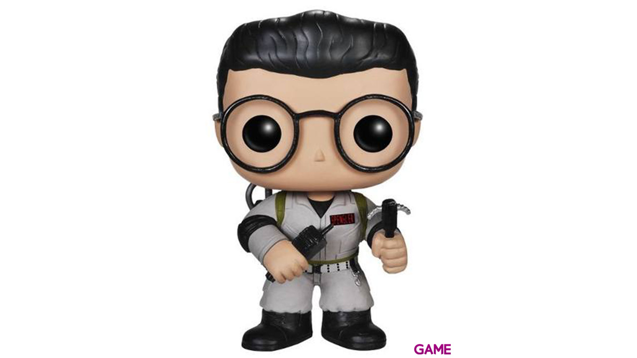 Figura Pop Los Cazafantasmas Dr. Egon Spengler