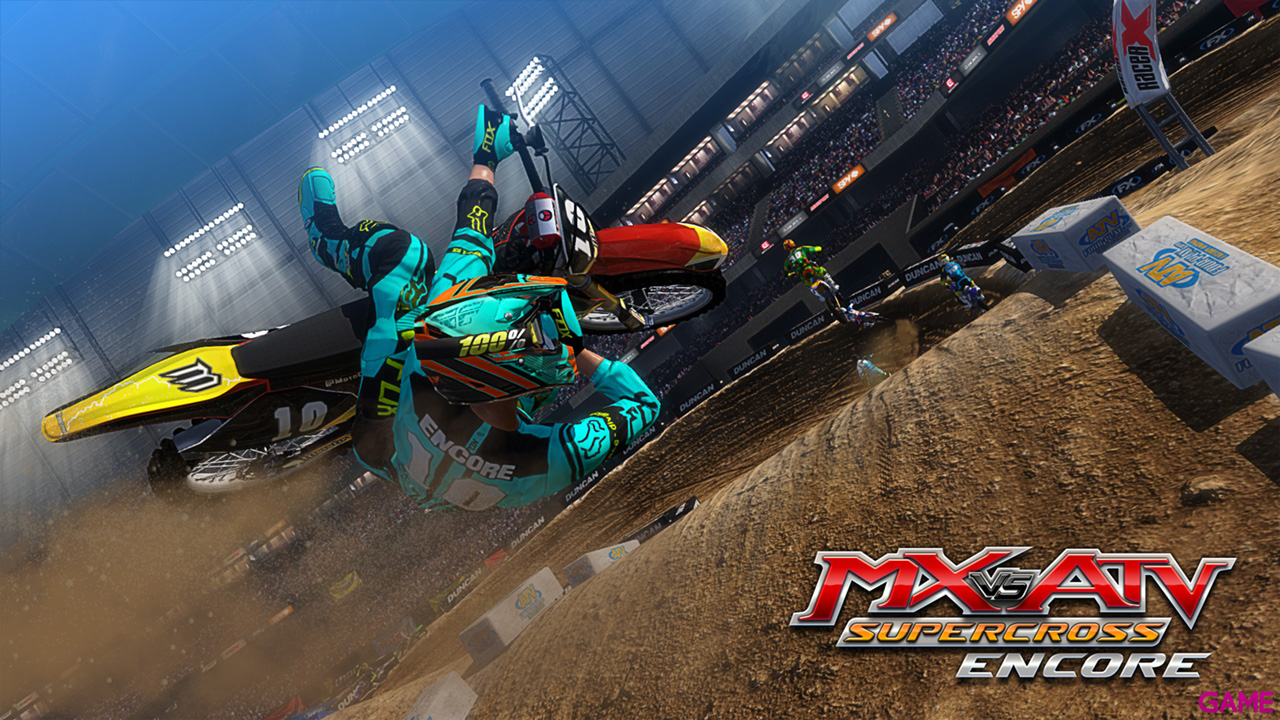 MX vs. ATV Supercross: Encore Edition