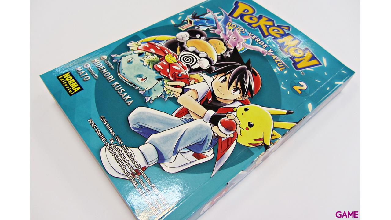 Pokemon nº 2: Rojo, Verde y Azul nº 2