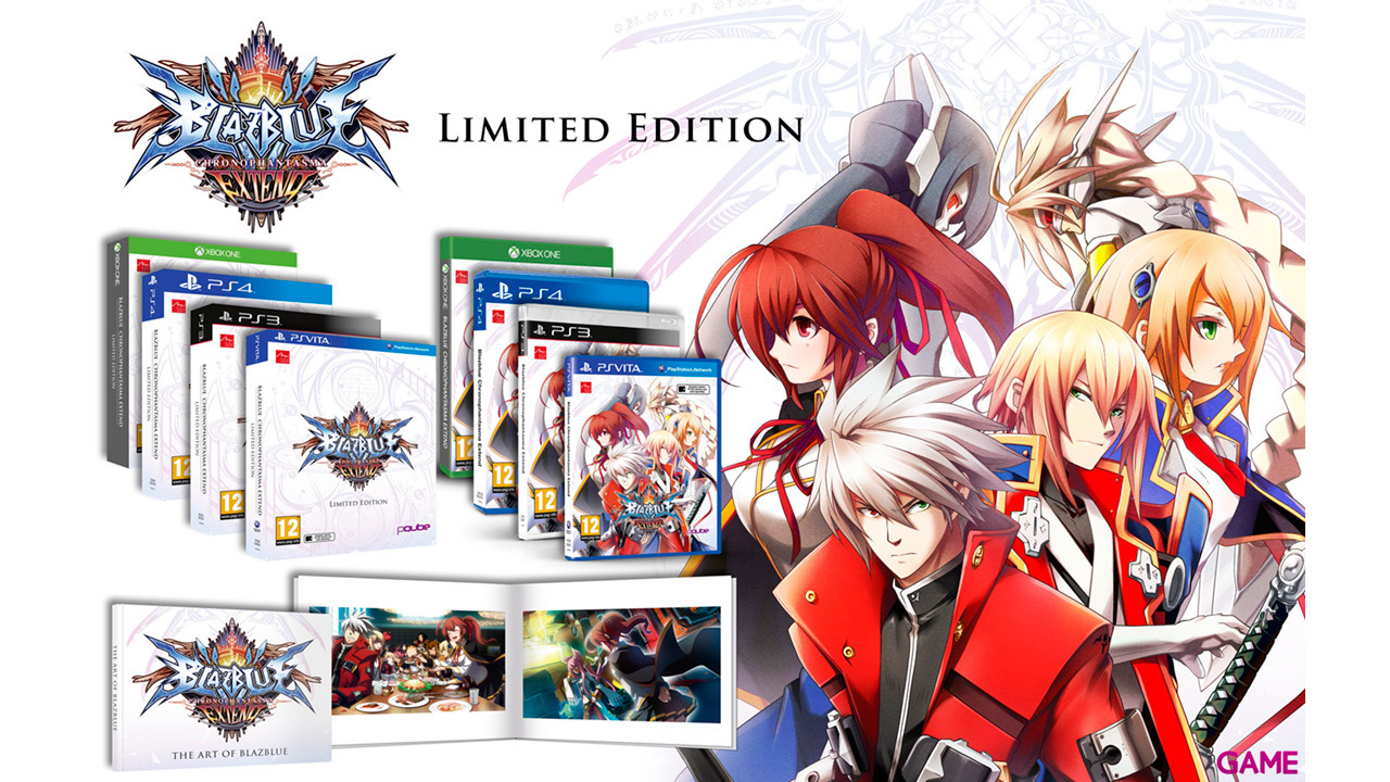 BlazBlue Chronophantasma Extend Limited Edition