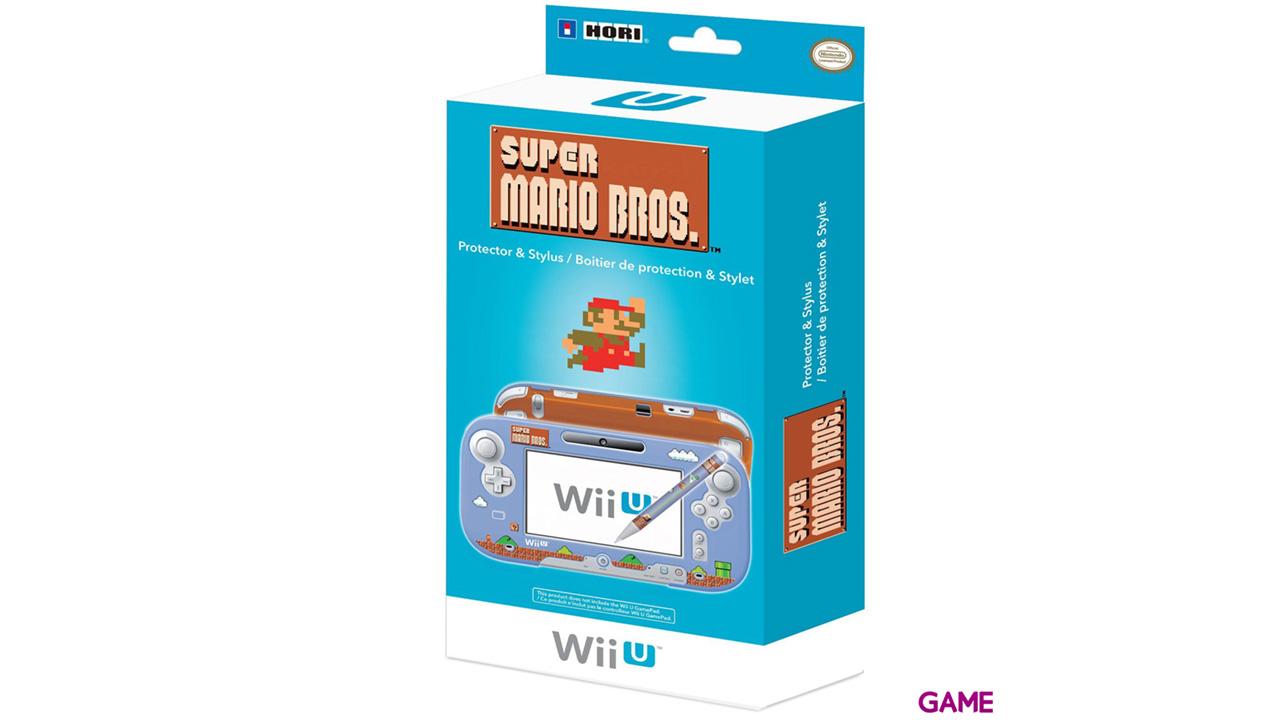 Carcasa Gamepad  + Stylus Mario Maker Hori -Licencia oficial Nintendo-