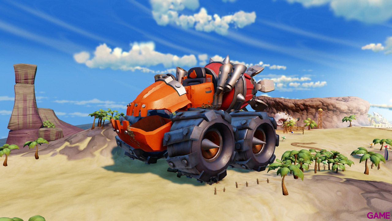 Figura Skylanders Superchargers Vehiculo Thump Truck