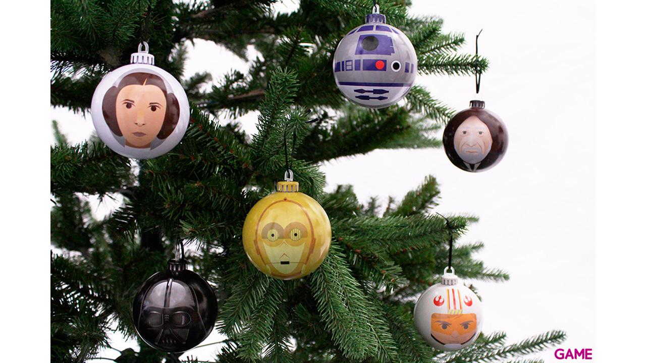Bolas de Navidad Star Wars: Una Nueva Esperanza