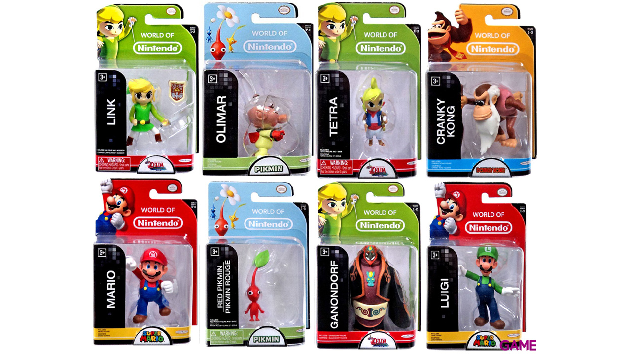 Minifiguras Mario 6cm Serie 3 (Surtido)