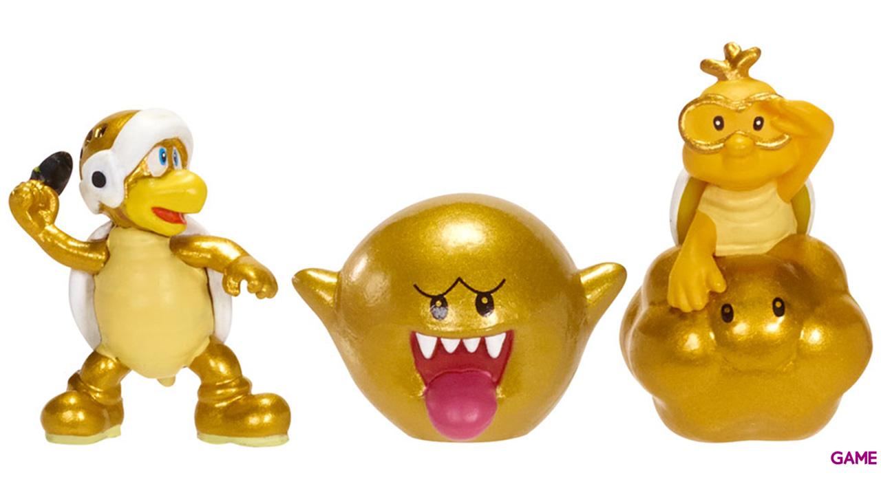 Pack de 3 Microfiguras Mario 2cm Serie 3 (Surtido)