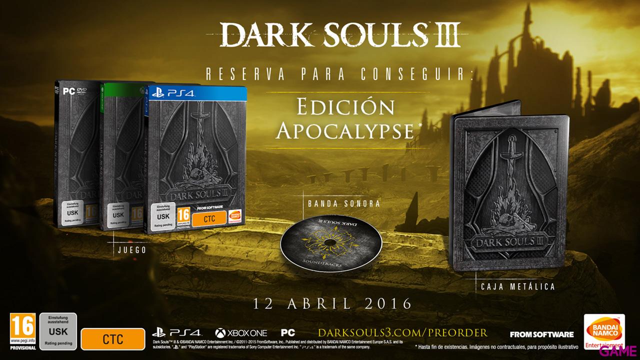 Dark Souls III Edición Apocalypse