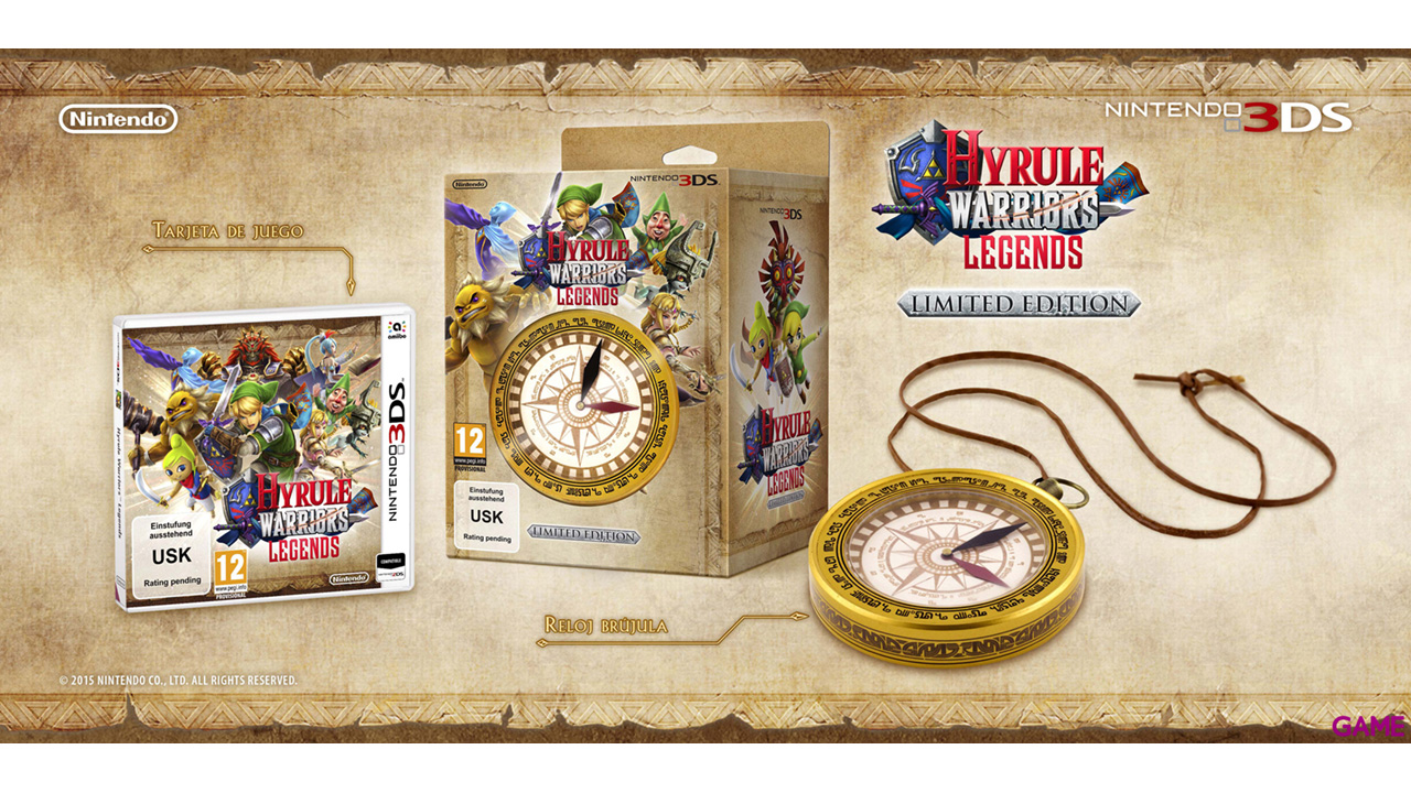 Hyrule Warriors Legends Edicion Limitada