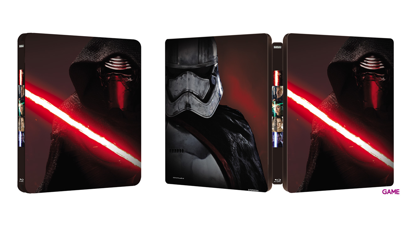 Star Wars: El despertar de la Fuerza Steelbox