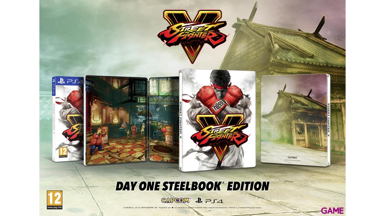 Street Fighter V Edición Limitada