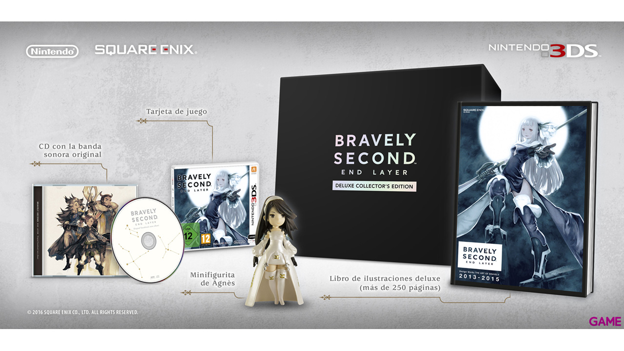 Bravely Second End Layer Ed. Especial