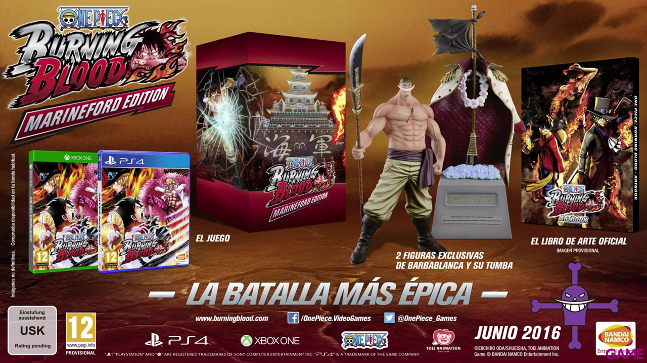 One Piece Burning Blood Collector Edition - PS4