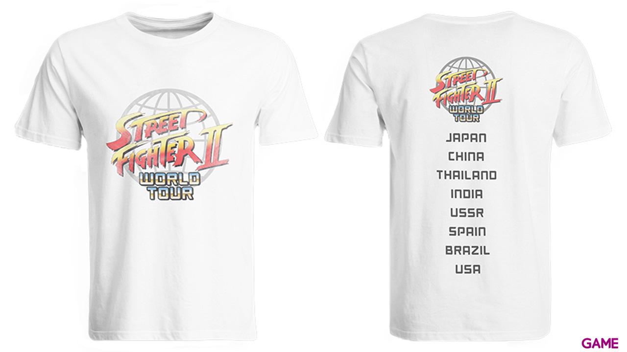 Camiseta Street Fighter II World Tour Talla S