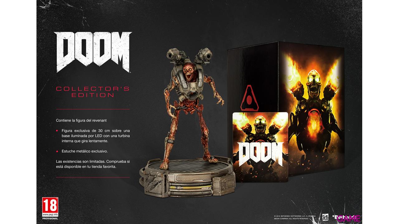 Doom Edición Coleccionista XONE