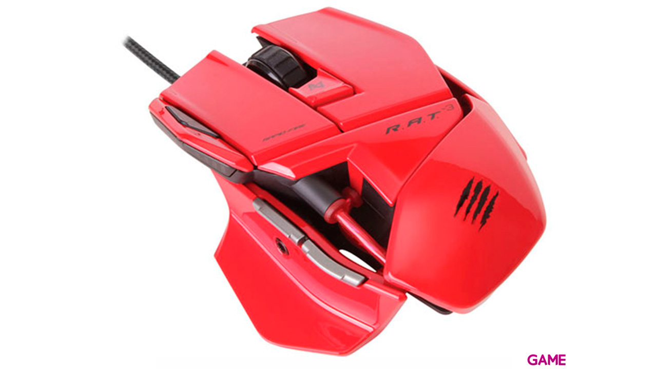 Mad Catz Rat 3 Rojo