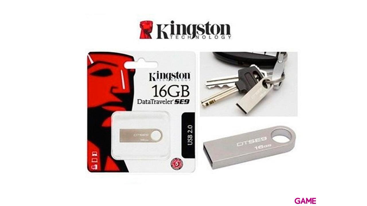 Kingston Datatraveler Se Metal Case Pendrive Usb 2.0 16Gb