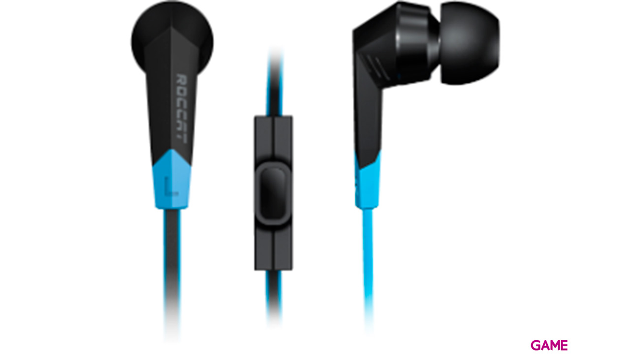ROCCAT Syva High Performance In-Ear Headset PC-PS4-XONE-SWITCH-MOVIL - Auriculares Gaming