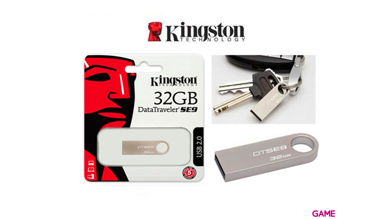 Kingston Datatraveller Se Metal Case 32Gb