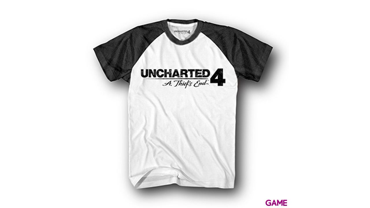 Camiseta Uncharted 4 Logo Talla S