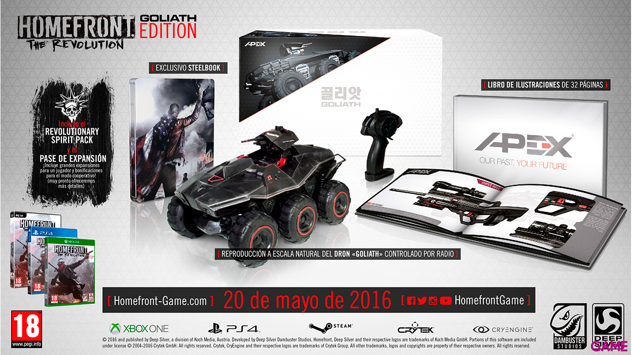 Homefront The Revolution Goliath Edition