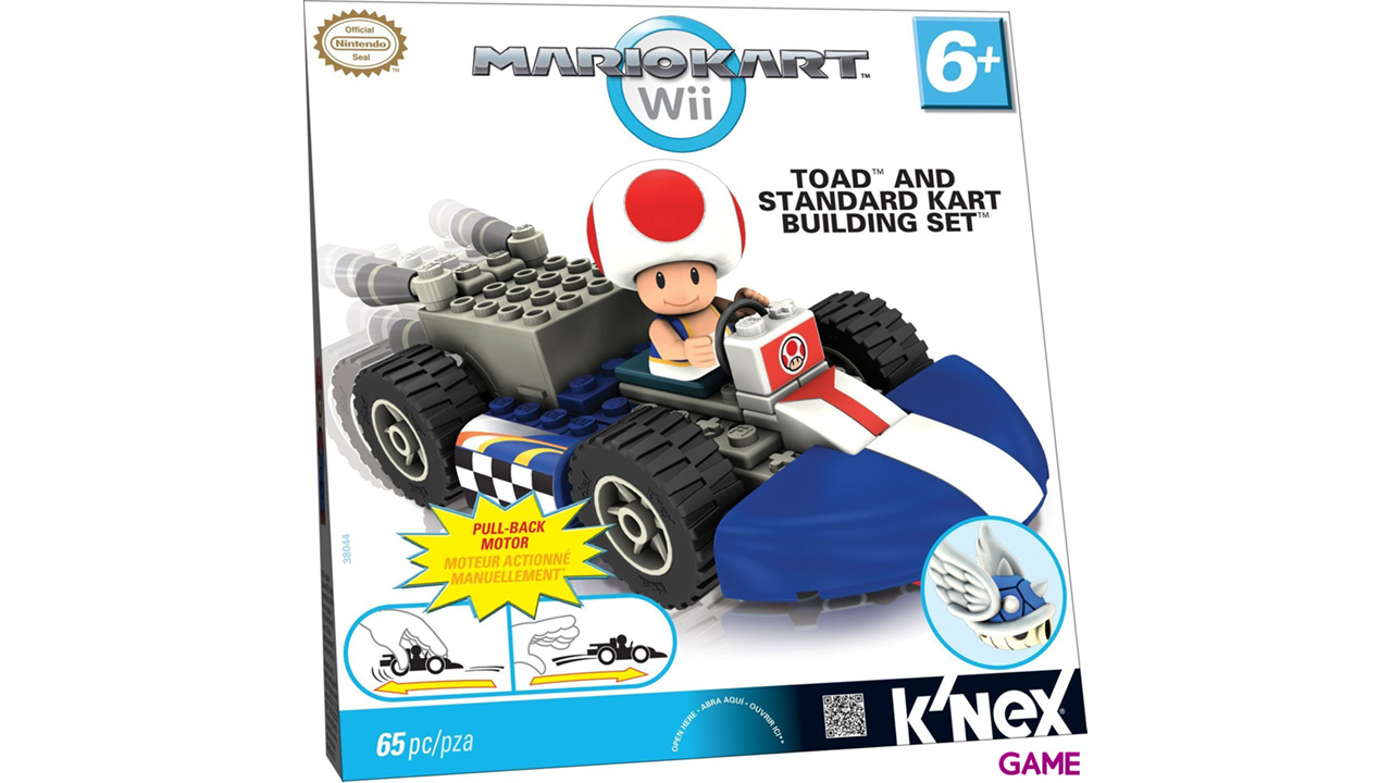 Figura Mario Kart KNEX: Toad