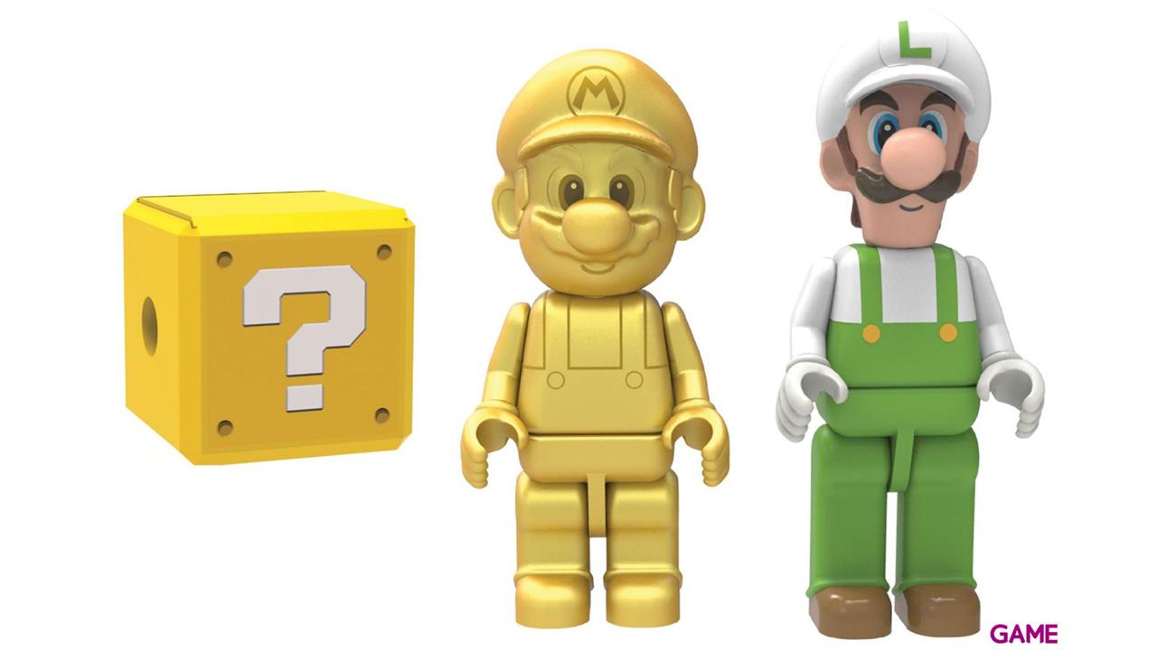 Pack de 3 Figuras Mario KNEX Super Mario Bros 2