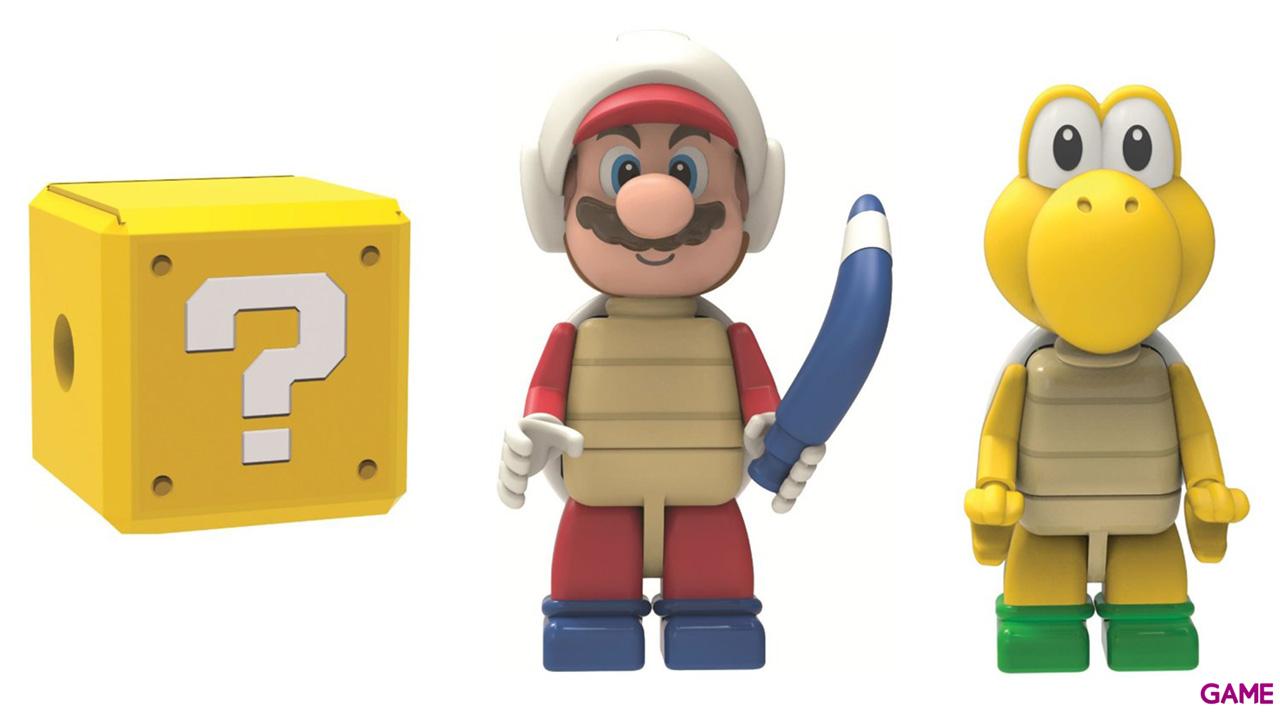 Pack de 3 Figuras Mario KNEX Super Mario 3D Land
