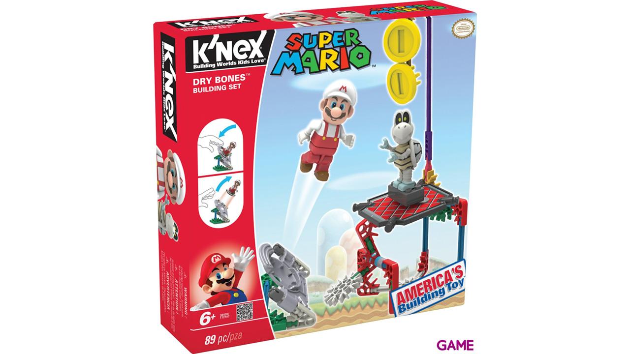 Set de Construcción Mario KNEX 89pzs: Dry Bones