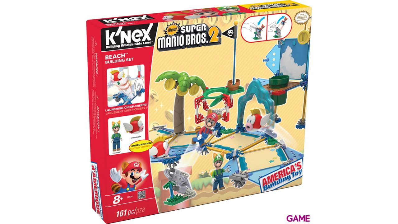 Set de Construcción Mario KNEX 161pzs: Playa