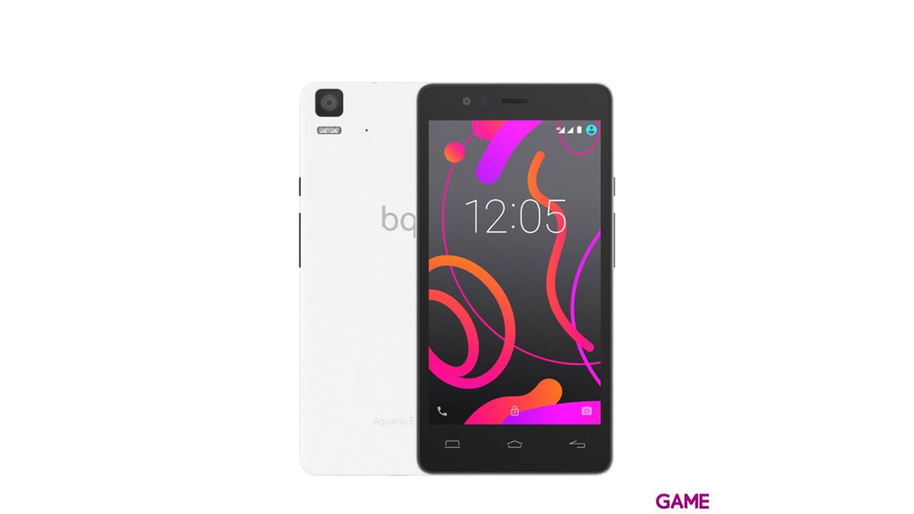 """Smartphone BQ Aquaris E5s 5"""" HD 4G 2Gb+16Gb Blanco"""