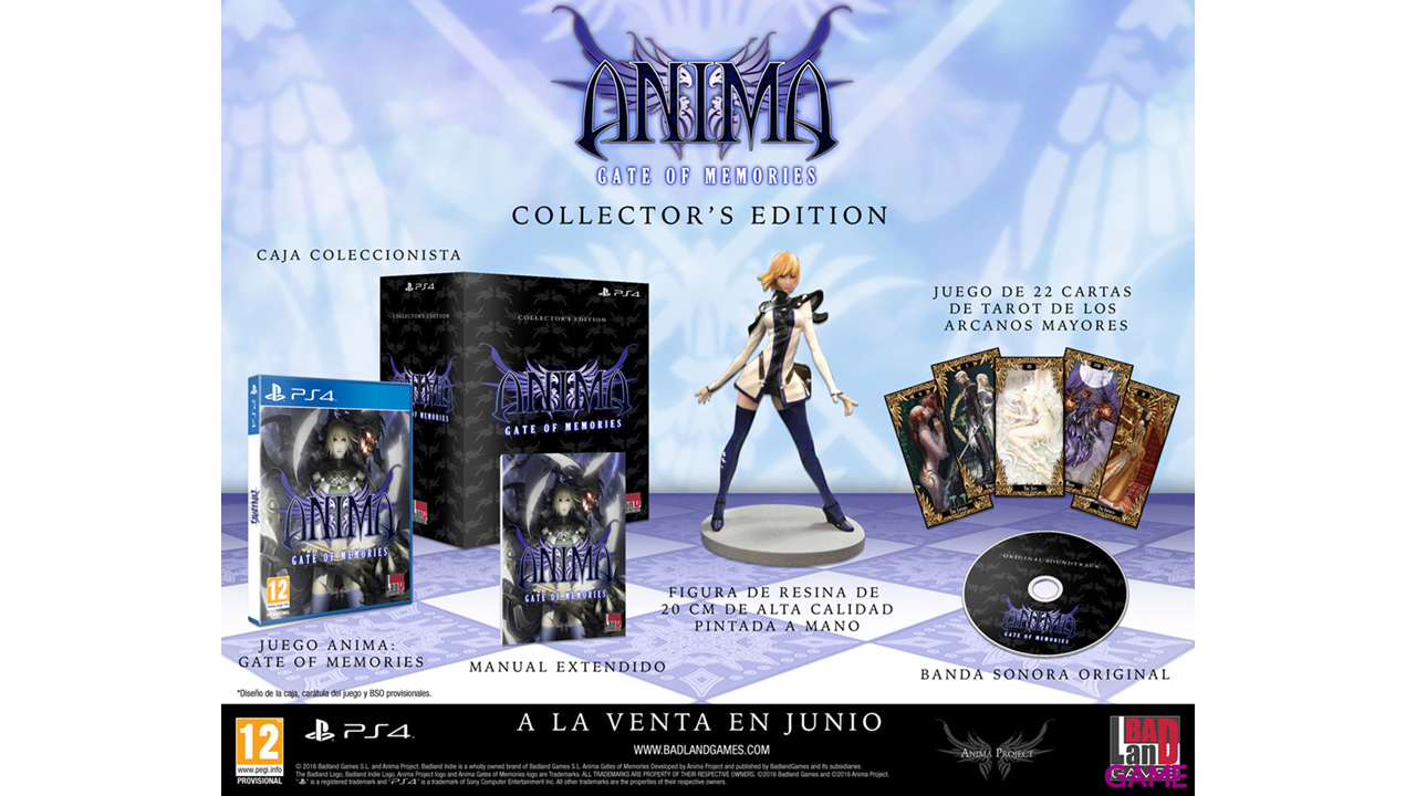 Anima: Gate of memories Edicion Coleccionista
