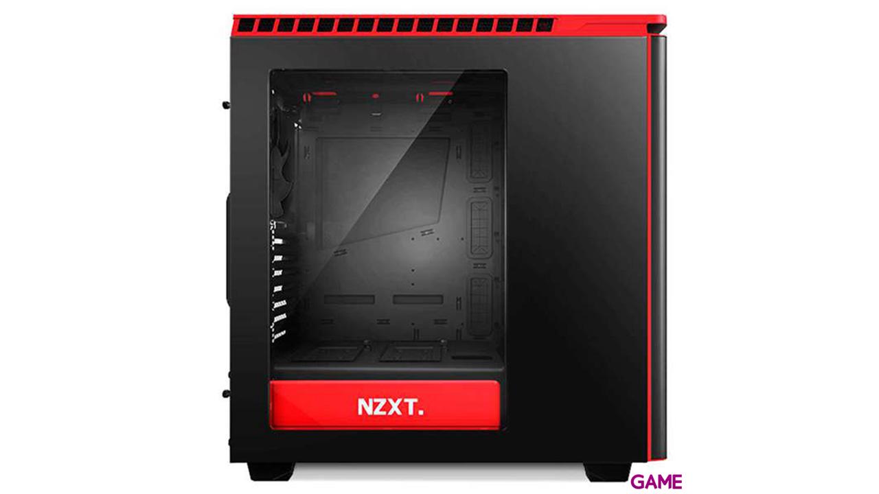 NZXT H440 Negra/Roja - Ventana