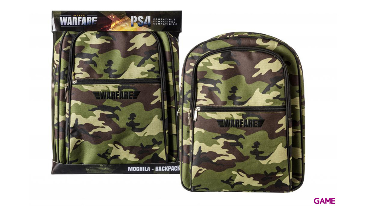 Mochila PS4 Indeca Warfare 2016