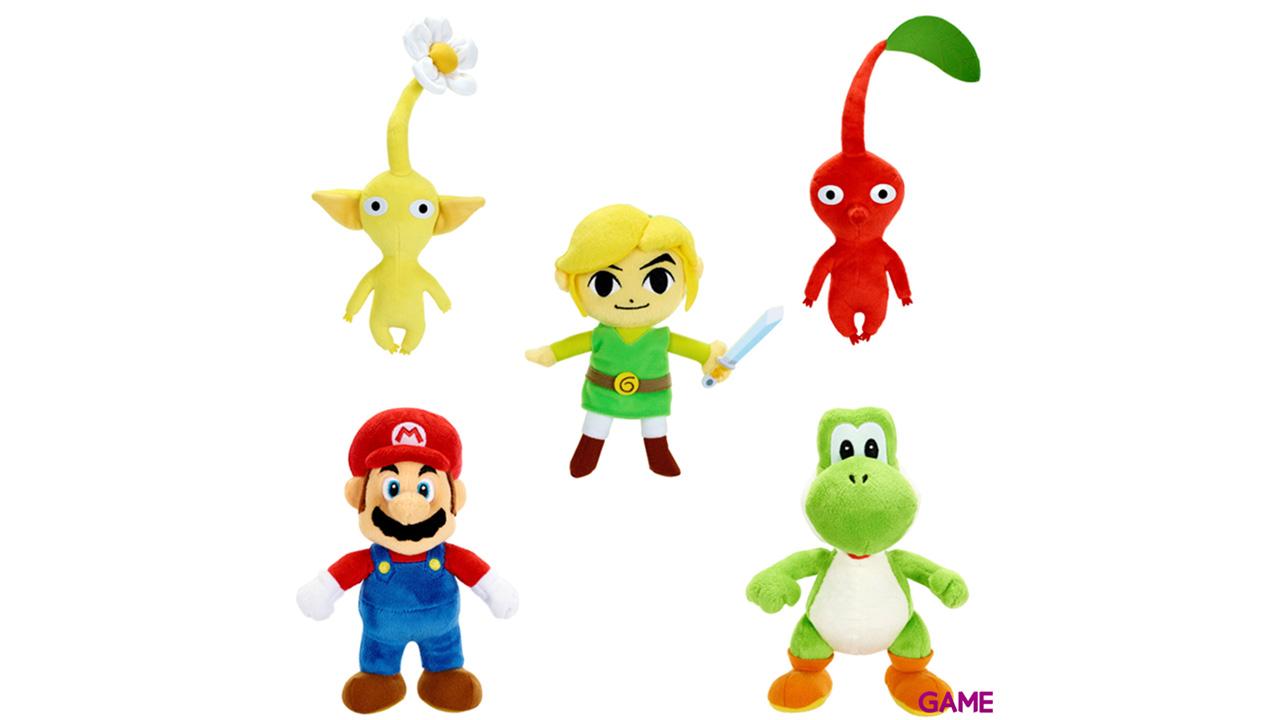 Peluche Nintendo 15cm Serie 4