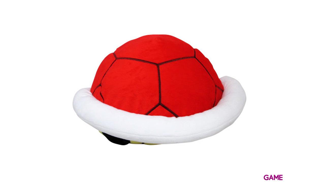 Peluche Tortuga Caparazón Rojo 32cm