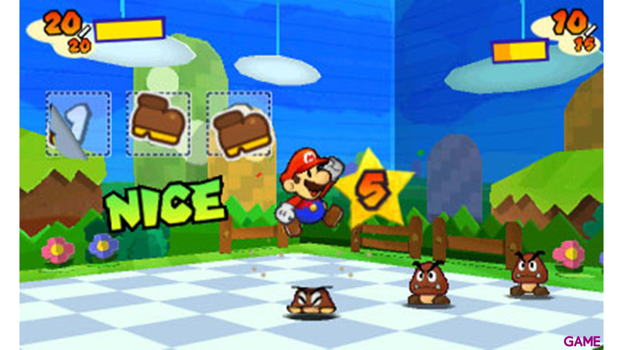 Paper Mario Sticker Star Nintendo Selects