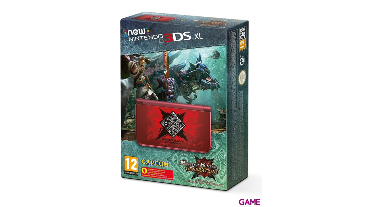 New Nintendo 3DS XL Monster Hunter Generations